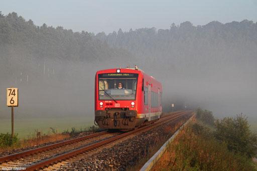 650 304 als RB 22406 Horb - Tübingen Hbf