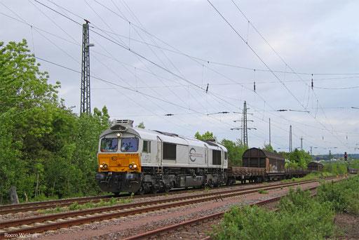 77 030 mit EK 55... Saarbrücken Rbf West - Neunkirchen(Saar) Hbf, 23.05.2016