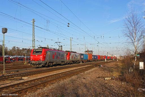 BB37013 (BB27116) mit DGS 42226 Ludwigshafen/Rh BASF Ubf - Lyon-Guillotiere/F (Marseille), Homburg(Saar) 17.12.2013