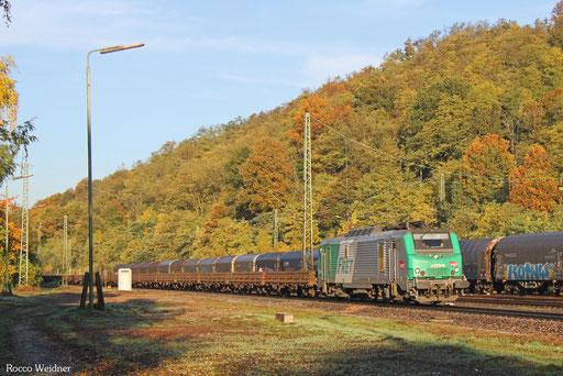BB37008 mit DGS 44254 Dillingen Hochofen Hütte - Thionville/F, Luisenthal(Saar) 18.10.2017