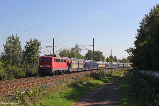 140 833 mit EK 55890 Saarbrücken Rbf West - Fürstenhausen, Gersweiler-Ottenhausen 30.09.2013