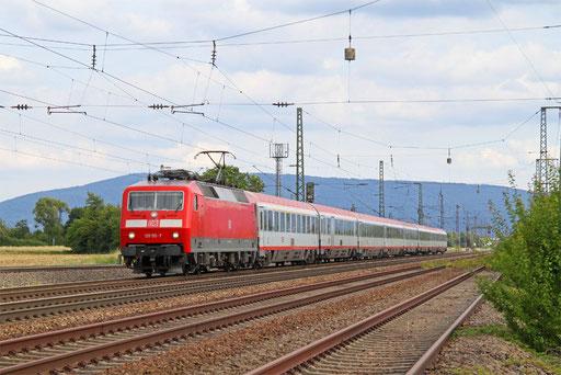 120 155 mit IC 118 Innsbruck Hbf - Münster(Westfalen) Hbf, Mannheim 11.08.2016