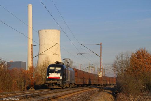 182 508 mit DGS 91116 Duisburg-Ruhrort Hafen -  Neunkirchen(Saar) Hbf, Ensdorf 30.11.2016