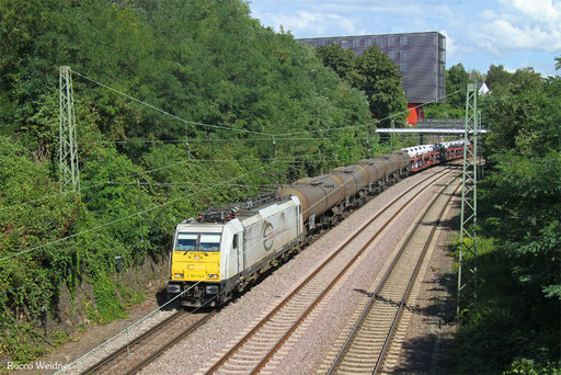 186 175 mit EZ 44262 Mannheim Rbf Gr - Forbach/F, Saarbrücken 09.08.2017