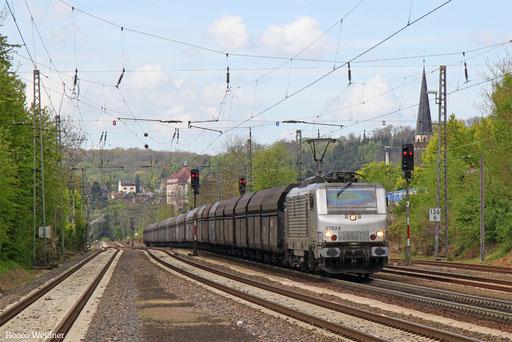 BB37024 mit DGS 98840 Dillingen Hochofen Hütte - Děčín hl.n. nákladové nádraží (Sdl.), Dudweiler 03.05.2017
