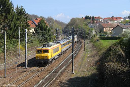 BB22379 mit 999166 Forbach - Metz-Ville (Sdl.), 04.04.2017