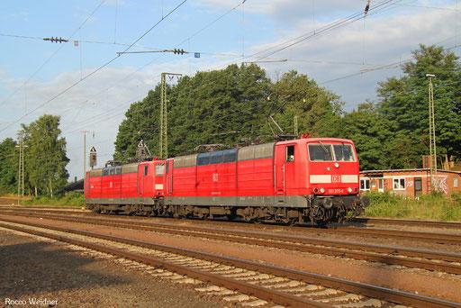 DT 181 205 + 181 213 als T 67422 Saarbrücken Rbf Nord - Homburg(Saar) (Sdl.), 14.07.2017