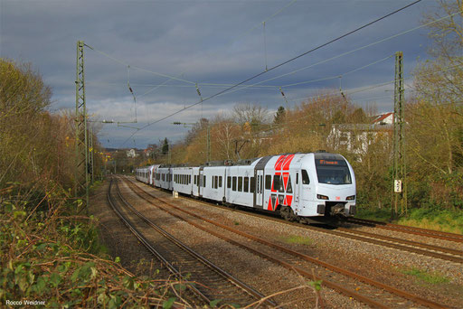 DT 429 109 + 429 101 als RE 41.. Koblenz Hbf - Mannheim Hbf, Saarbrücken 23.11.217