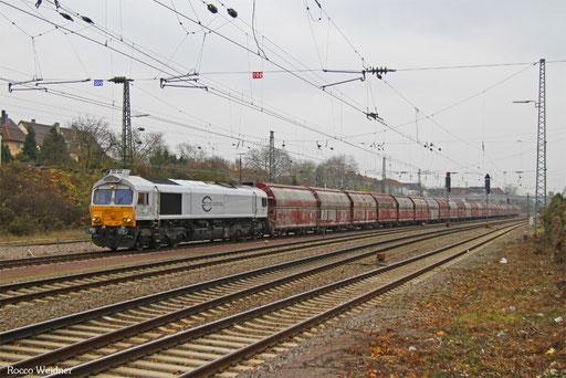 77 010 mit GM 60439 Auersmacher - Dillingen Zentralkokerei, Saarbrücken Burbach  26.11.2016