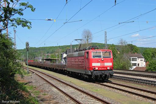 181 204 mit EK 55390 Neunkirchen(Saar) Hbf - Saarbrücken Rbf Nord, Dudweiler 15.05.2017