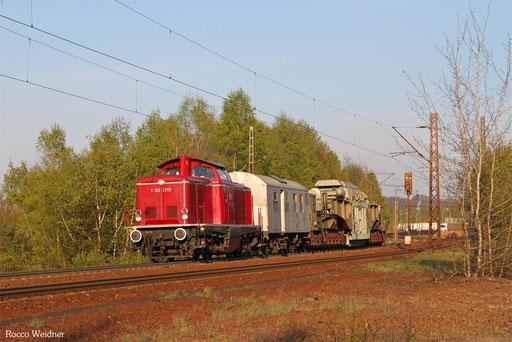 212 229 mit DGS 52443 Bexbach - Wittlich (Sdl.), Neunkirchen(Saar) 20.04.2017