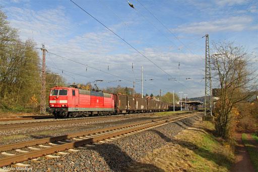 181 204 mit GA 48252 Einsiedlerhof - Forbach/F, Dudweiler 23.11.2016