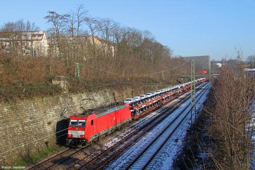 186 333 mit EZ 49266 Einsiedlerhof - Vaires-Torcy/F, Saarbrücken 20.01.2016