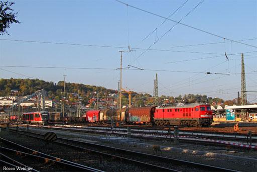 232 609 mit EZ 46141 Mannheim Rbf - Zürich Limmattal RB/CH (Sdl. Frachten, Rastatt-Umleiter), Ulm Hbf 27.09.2017