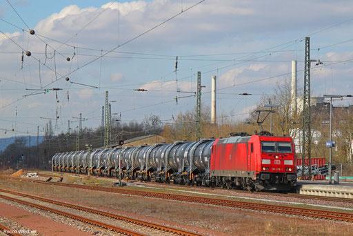 185 376 mit GC 60457 Dormagen - Saarbrücken Rbf Nord, Bous 14.03.2018