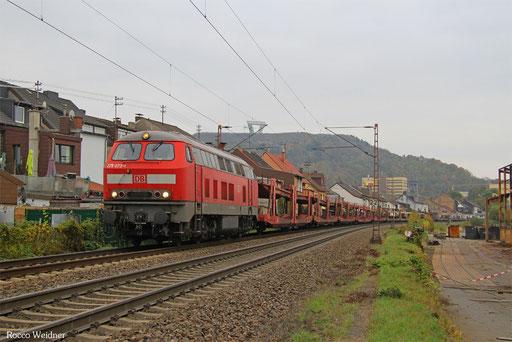 225 073 mit GA 62400 Saarbrücken Rbf West - Dillingen Ford (Sdl. leere Laes), Saarlouis 28.10.2016