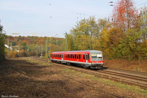 628 479 als RB 12222 Lebach-Jabach - Saarbrücken Hbf, 01.11.2016