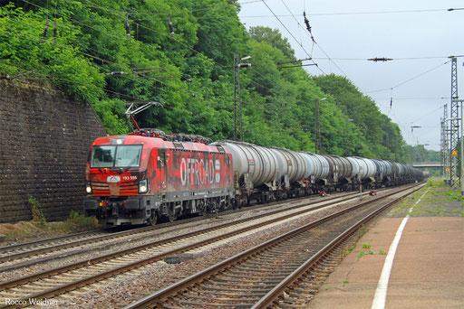 193 555 mit DGS 75999 München Ost Rbf - Gladbeck West (Sdl.), Saarbrücken 02.07.2017