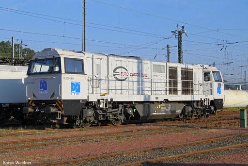0002 001-1 F-ECR, Saarbrücken 24.09.2016