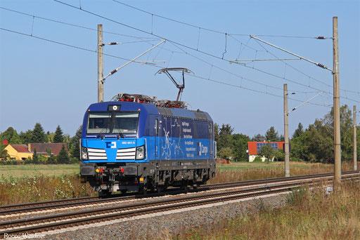 383 001 als Tfzf(D) 48305 Falkenberg(Elster) unt Bhf - Dolní Žleb/CZE, Schmerkendorf 15.09.2016