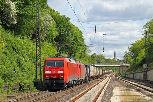 152 133 (186 324) mit KT 44426 (Lu-BASF) Ludwigshafen-Mundenheim - Saarbrücken Rbf Nord (Sdl.KV), 21.05.2016