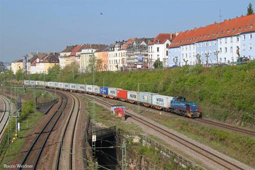 275 501 mit DGZ 95261 Dillingen-Katzenschwänz - Homburg(Saar) Hbf, Saarbrücken 07.04.2017