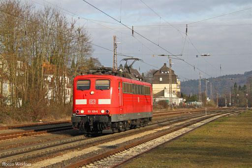 151 109 als EZ 51916 Mannheim Rbf Gr.G - Saarbrücken Rbf Nord, Dudweiler 09.12.2016