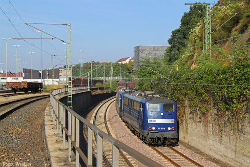DT 151 151 + 151 143 mit GM 48745 Maasvlakte/NL - Neunkirchen(Saar) Hbf, Saarbrücken 24.09.2016