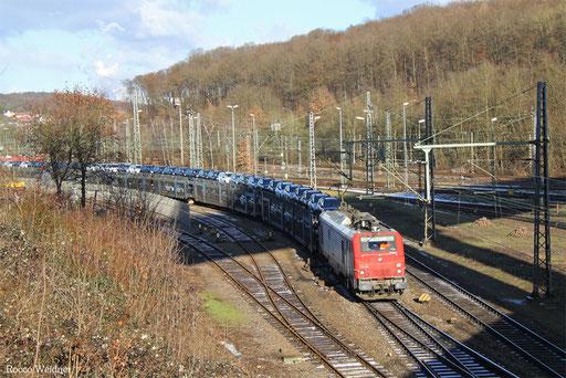 BB37531 mit DGS 44428 Saarbrücken Rbf Nord - Forbach/F (Sdl.), 05.01.2017