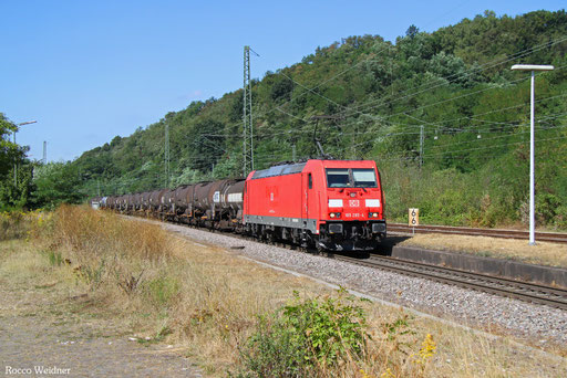 185 285 mit GC 44420 Großenkneten - Forbach/F (St-Clair-les-Roches) (Sdl.Schwefel), Luisenthal(Saar) 06.09.2016