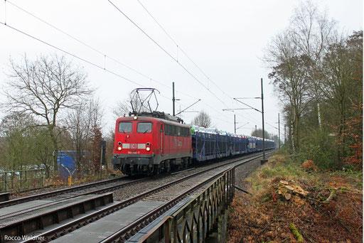 140 790 mit EK 55980 Saarbrücken Rbf West - Fürstenhausen, 11.12.13