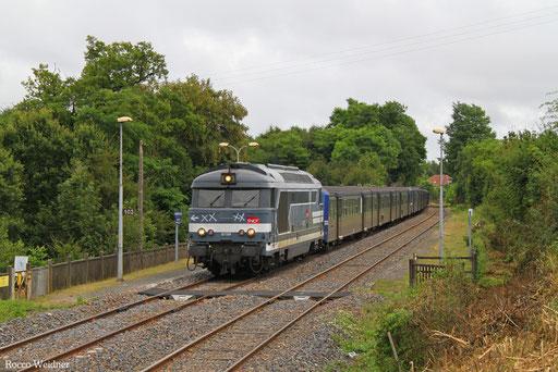 BB67519 mit 811260 Strasbourg Ville - Béning (Sdl. Überführung RRR-Garnituren), Farébersviller 02.08.2016