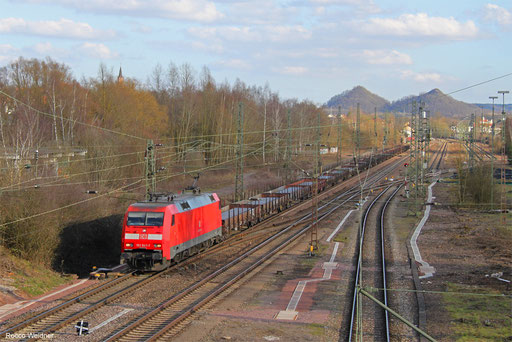 152 047 mit GM 98843 (Kehl) Schwetzingen - Ehrang Nord (Sdl., ex 60411), Bous 14.03.2018