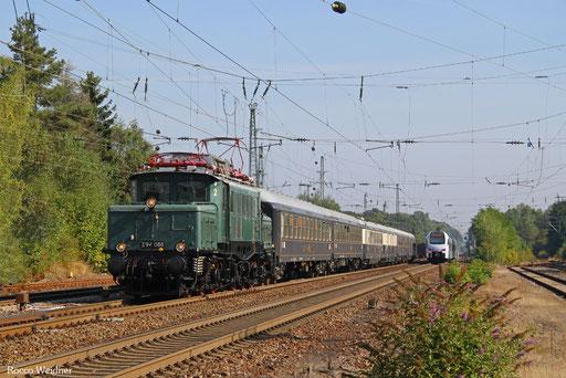 E94 088 mit DPF 24498 Stuttgart Hbf - Ehrang Ost (Sdl.), Homburg(Saar) Hbf  24.09.2016