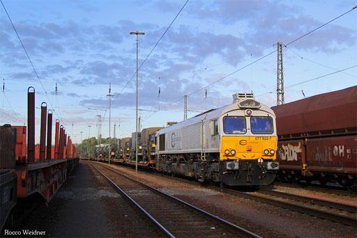 77 022 mit M 41783 't Harde/NL - Neunkirchen(Saar) Hbf (Sdl. Militär mit Lü), 29.08.2016