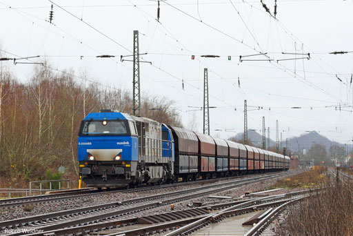 272 001 mit DGS 83876 Neunkirchen(Saar) Hbf - Moers Gbf (Sdl.), Bous  28.12.2013