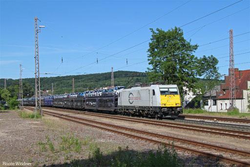 186 168 mit GA 46372 Trnava/SK - Vaires-Torcy/F, Dudweiler 08.06.2017