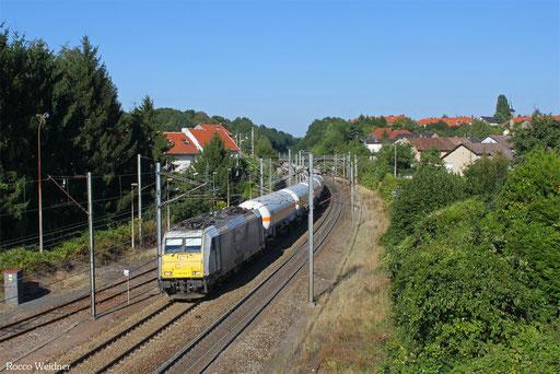 186 163 mit XP 49248 Hüls AG - Forbach/F (Creutzwald), Stiring Wendel 05.09.2013