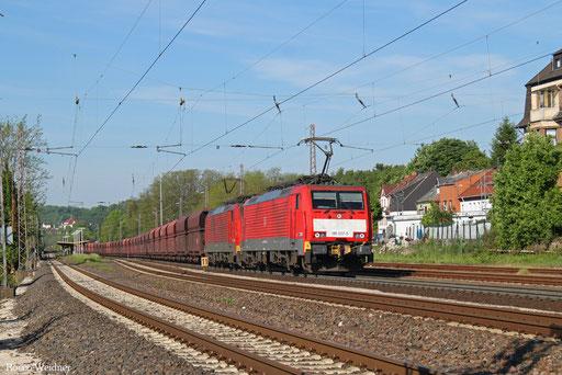 DT 189 037 + 189 033 mit GM 49712 Dillingen Hochofen Hütte - Maasvlakte Oost , 22.05.2017