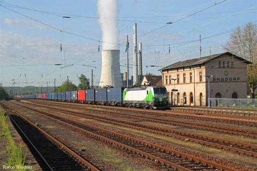 193 821 mit DGS 44783 (Maasvlakte/NL) Emmerich - Ehrang Nord, Ensdorf(Saar) 15.05.2017
