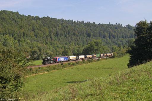 MRCE Dispo 275 009 und SBB Cargo 482 029 mit DGS 40965 Köln Eifeltor - Rothrist GB
