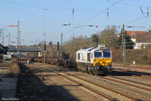 77 001 mit EK 55453 Völklingen Walzwerk - Saarbrücken Rbf Nord, SB-Burbach 19.01.2017
