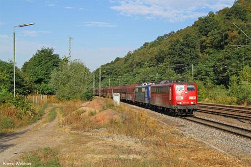 DT 151 147 + 151 ... mit GM 48745 Maasvlakte - Neunkirchen (Saar) Hbf, Luisenthal(Saar) 12.09.2016