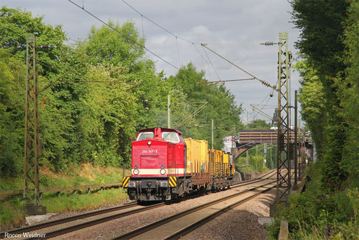 204 347 mit DGV 93168 Luisenthal(Saar) - Dresden-Altstadt (Sdl.), SB-Burbach 30.06.2017