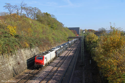 BB37531 mit DGS 45196 Saarbrücken Rbf Nord - Forbach/F (Sdl.PKW), 14.11.2016