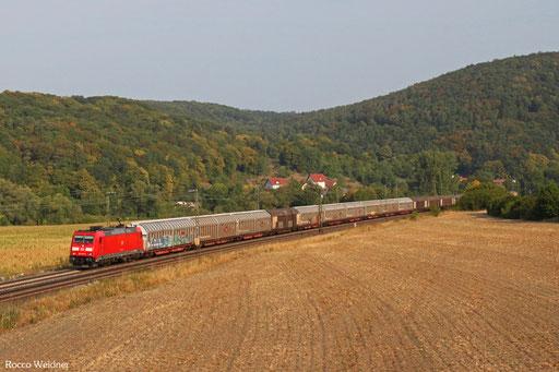 185 242 mit GB 49711 Brake/Unterweser - Amstetten
