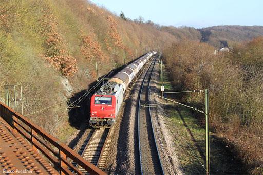 BB37529 mit DGS 69206 Karlsruhe West - Ehrang Mitte (Sdl.), Völklingen 27.12.2016