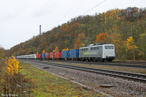 139 558 mit DbZ 89001 Krefeld-Linn - Luisenthal(Saar) (Sdl.), 22.11.2016