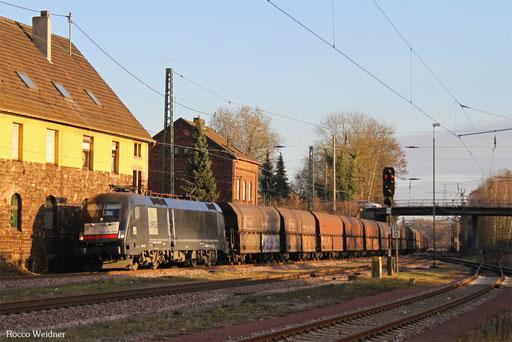 182 508 mit DGS 91117 Neunkirchen(Saar) Hbf - Duisburg-Ruhrort Hafen, Bous(Saar) 14.12.2016