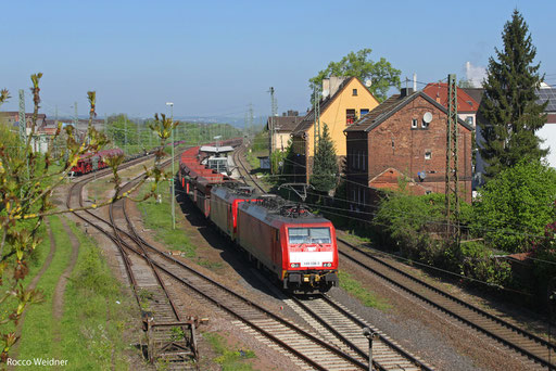 DT 189 038 + 189 047 mit GM 48722 Dillingen Hochofen Hütte - Maasvlakte Oost, Bous 05.05.2013